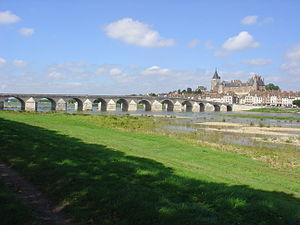 Gien - Loire River in Gien