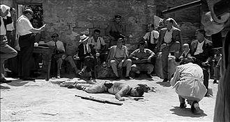 Salvatore Giuliano (film) - A scene of Salvatore Giuliano