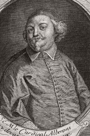 Giulio Alberoni - Print of Cardinal Alberoni