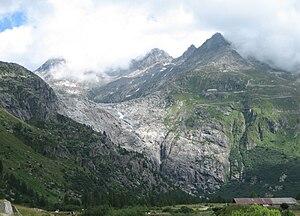 Rhône Glacier - Image: Glacier du Rhone
