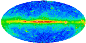 Energetic Gamma Ray Experiment Telescope - The sky as seen in high-energy gamma rays.