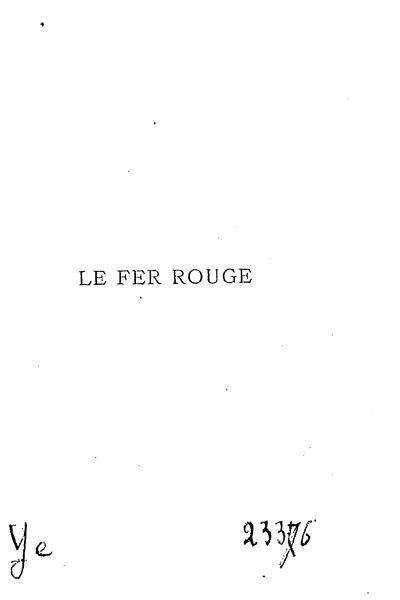 File:Glatigny - Le Fer rouge, 1870.djvu