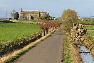 Godney English village
