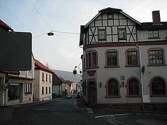 Goldbach, Bavaria - Image: Goldbach Gasthaus Zum Adler
