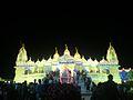 Golden view of swaminarayan temple bhuj.jpg