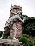 Hercules Statue approximately 100 metres south of Goldney House