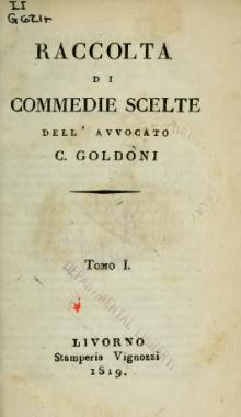 Goldoni - Raccolta di commedie scelte (Quelle: Wikimedia)