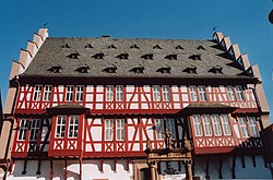 German House of Goldsmiths (old town hall of Hanau)