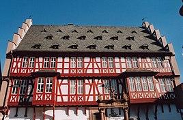 Goldsmiths' House (Hanau old town hall)
