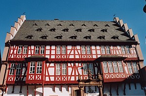 Hanau - Goldsmiths' House (Hanau old town hall)