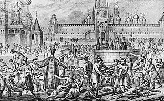 Russian famine of 1601–03 famine believed to have killed a third of the countrys population