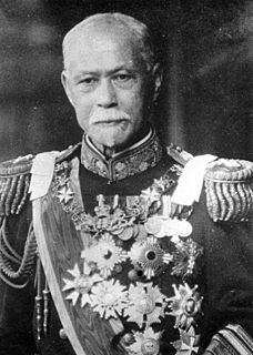 Yamamoto Gonnohyōe Prime Minister of Japan and Imperial Japanese Navy admiral