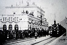 inauguration in 1882 of the gotthard rail tunnel connecting the southern canton of ticino the longest in the world at the time