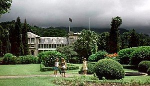 ポートオブスペイン: Government House, Port of Spain, Trinidad. 1967