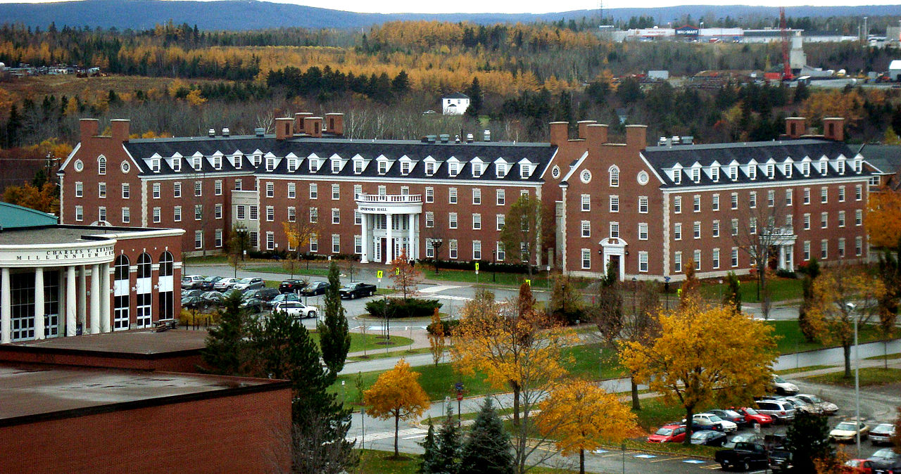 Studying at St. Francis Xavier University in Canada
