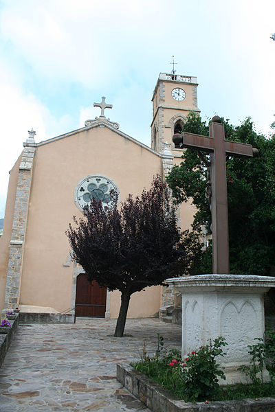 Graissessac (Hérault) - église Saint-Sauveur.