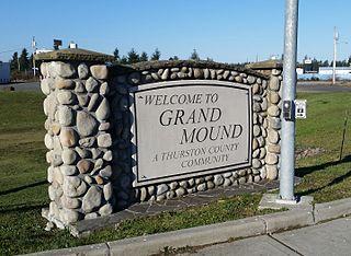 Grand Mound, Washington CDP in Washington, United States