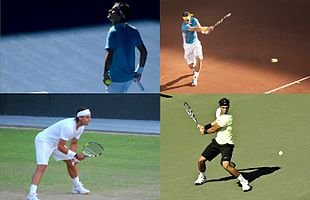 Description de l'image Grand Slam men's singles champions 2010 (2).jpg.