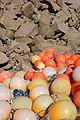 Granite cliffs and plastic multicolored fishing balls.jpg