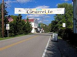 Clover Street in Granville