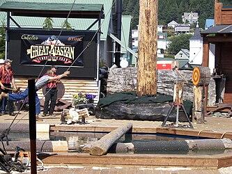 Great Alaskan Lumberjack Show axe throwing 2.jpg