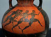 Atleas griegos( Epoca arcaica)