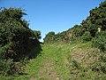 Greenlane between Penhwnllys and the Mariandyrys-Llanddona road - geograph.org.uk - 936001.jpg