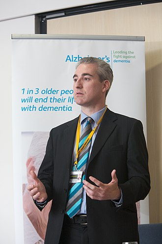 Greg Mulholland - Mulholland speaking on dementia during a Health Hotel session at the 2009 Liberal Democrat Party Conference.