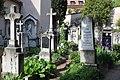 Grieser Friedhof - Gräber an der Ostseite.JPG