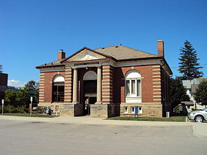 Grimsby, Ontario - The Former Grimsby Public Library