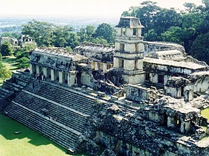 Mesoamerican architecture - Main palace of Palenque