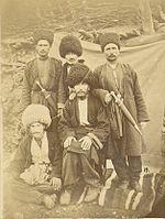 Лезгины из села Лаза Кубинского уезда (ныне Гусарский район), 1880 год