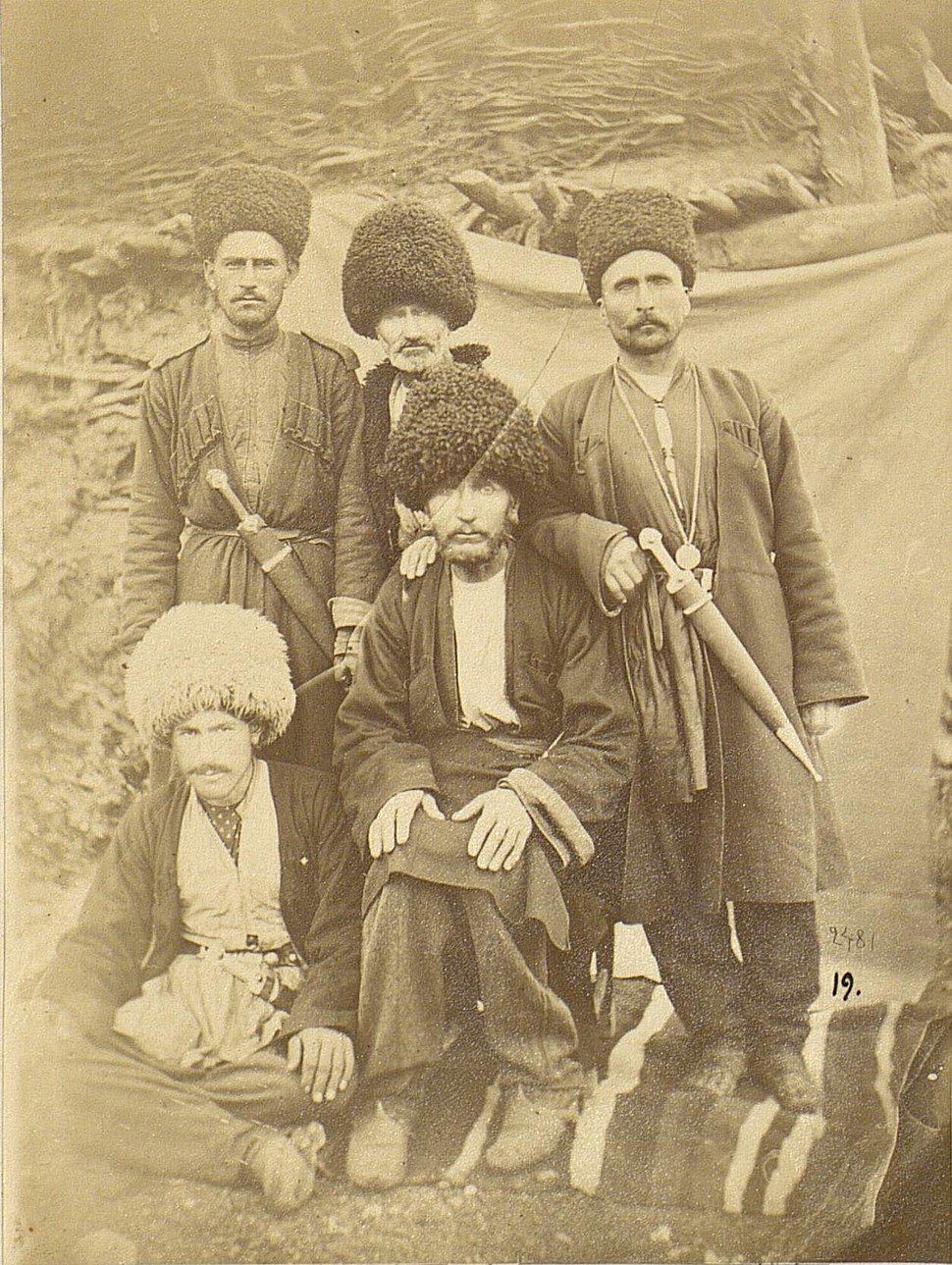 Group of men from Laza