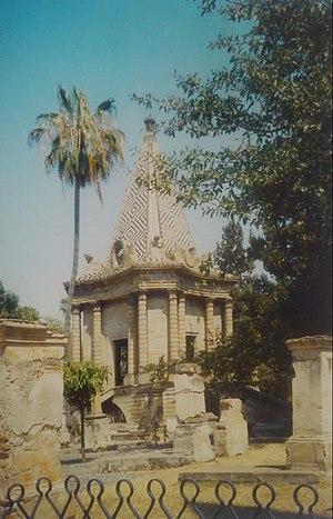 Panteón de Belén - Egyptian Chapel in the Belén Cemetery of Guadalajara