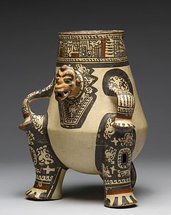 Guanacaste-Nicoya - Shaman Effigy Vessel - Walters 20092056 - Three Quarter Left.jpg