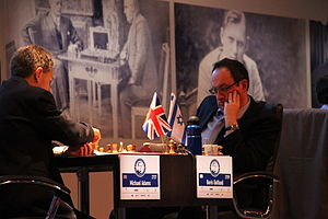 Boris Gelfand - Gelfand-Adams, Alekhine Memorial 2013