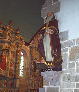 Saint Hervé Breton saint