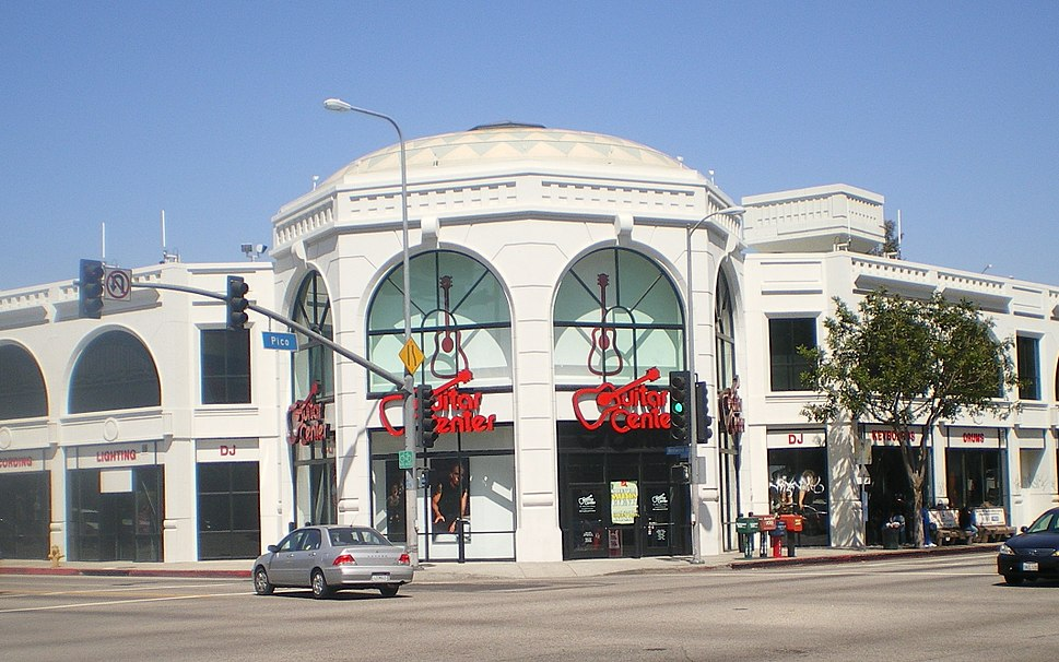 Guitar Center, Pico and Westwood, Los Angeles, CA.JPG
