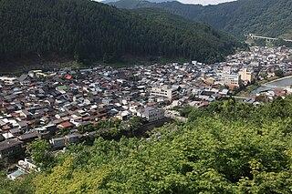 Gujō, Gifu City in Chūbu, Japan