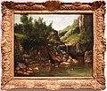 Gustave courbet, cascata in un paesaggio roccioso, 1872-74 ca.jpg