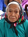 Gwich'in Woman Elder - Midway Lake Music Festival - Near Fort McPherson - Northwest Territories - Canada.jpg