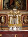 Höxter, Corvey, St. Stephanus und Vitus, Seitenaltar rechts Tabernakel (2).JPG