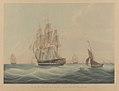 H.C.S. MacQueen off the Start, 26th January 1832 RMG PY8478.jpg