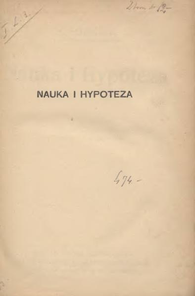 File:H. Poincaré-Nauka i Hypoteza.djvu
