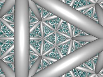 Icosahedral honeycomb - Image: H3 353 CC center