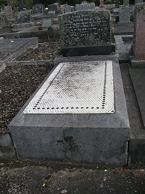Hannah Dudley - Grave of Hannah Dudley