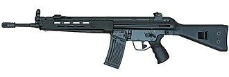 Heckler & Koch HK43 - HK43A2