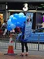 HK 香港仔 Aberdeen 南寧街 Nam Ning Street north HKLCE 2016 詹培忠 Chim Pui Chung blue balloons Sept 2016 DSC.jpg