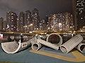 HK SYP 西環 Sai Ying Pun 中西區海濱長廊 Central and Western Waterfront Promenade night February 2020 SS2 01.jpg