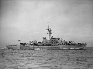 Castle-class corvette - HMS Denbigh Castle